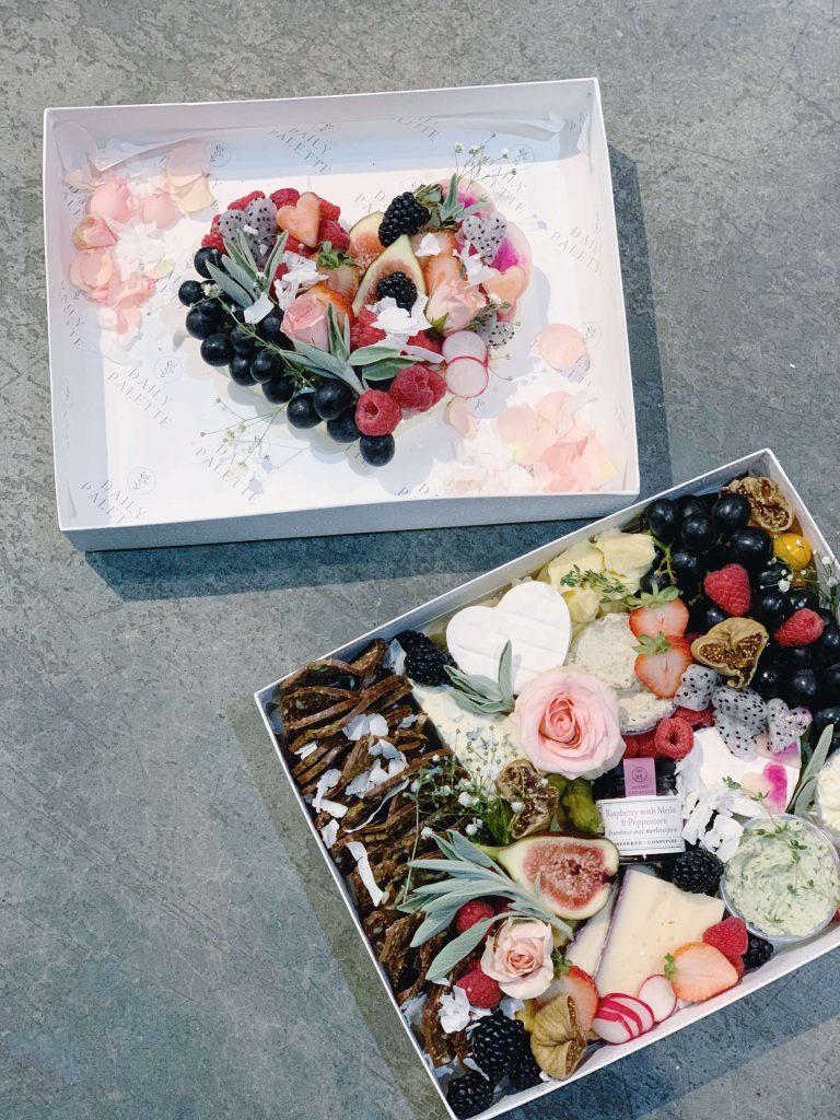 Amour Valentines Vegan Graze Boxes