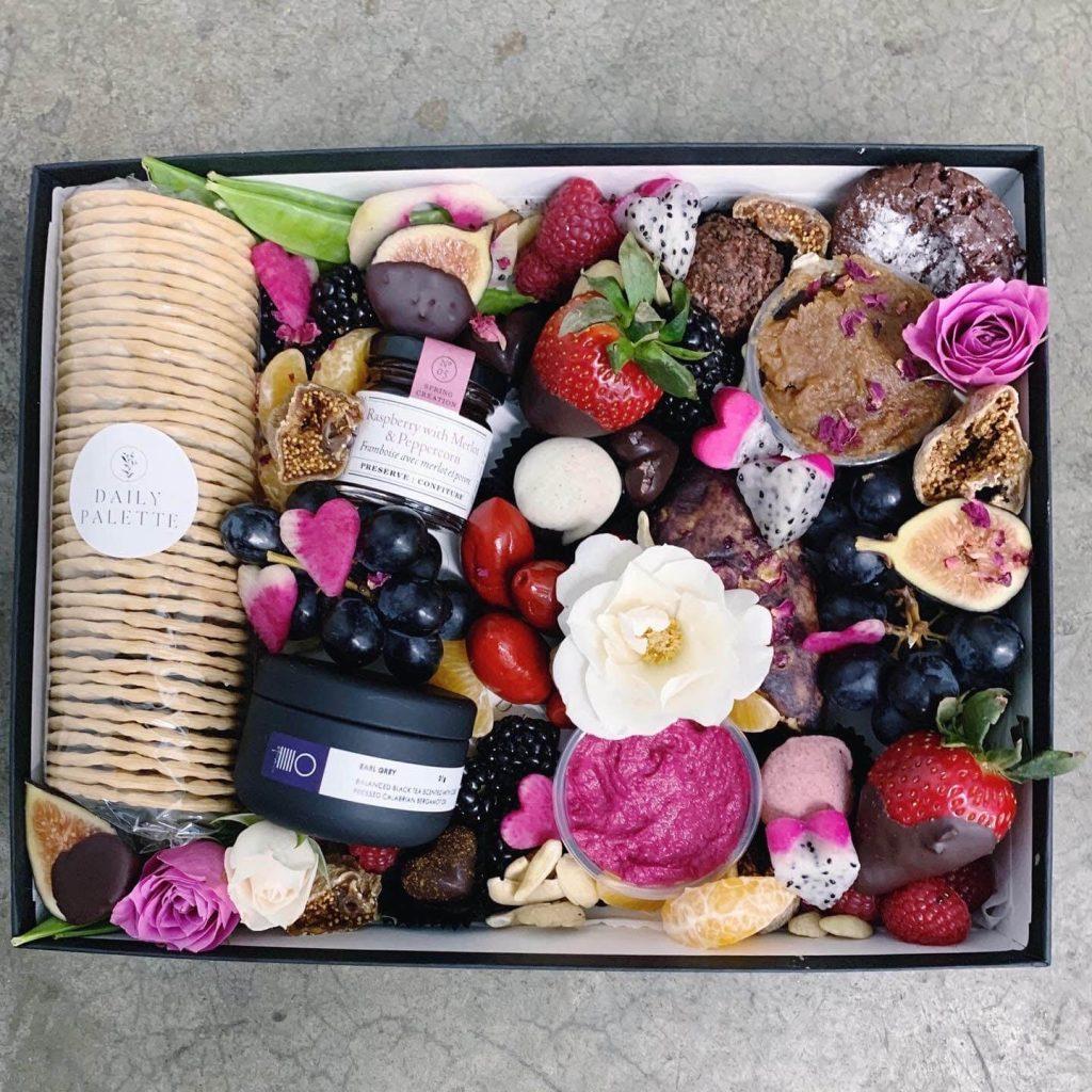 Vegan in Vancouver Valentines Nourish Box